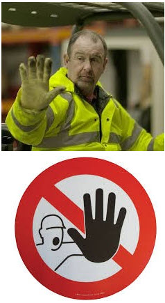 Forklift Hand Signal