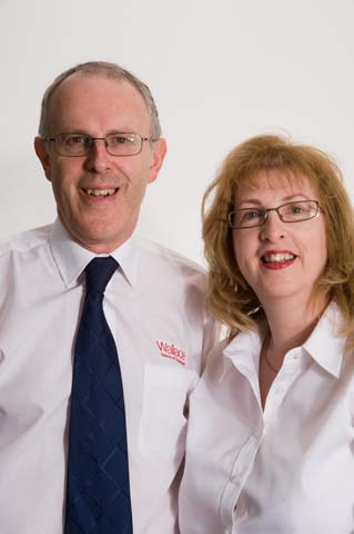 Ruth & Neil Wallace, Wallace Forklift Training London