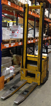 Wallace Forklift Pedestrian Stacking