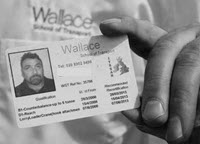 Wallace Forklift Training Photocard